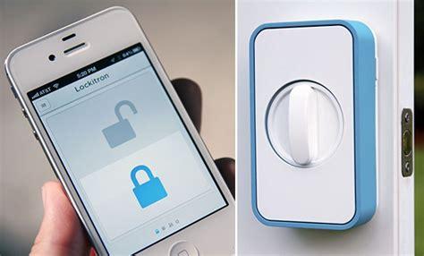 iphone door lock lockitron 帶來可以用 iphone 控制的門鎖 影片