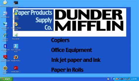 Dunder Mifflin Wallpaper Desktop Dunder Mifflin By Ciprianna On Deviantart