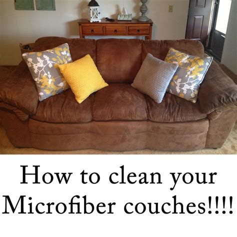 microfiber sofa cleaner products 1000 ideas about cleaning on cleaning