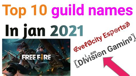 The option of the guild in free fire is much more beneficial. 54 Top Photos Free Fire New Guild Name 2021 / Amitbhai ...