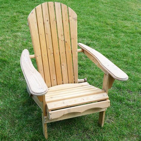 30343 wooden lawn furniture merry garden foldable adirondack chair wooden outdoor wood