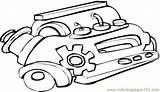 Coloring Engine Pages Tech Hi Coloringpages101 sketch template