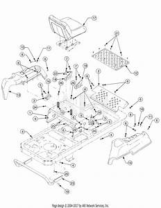 Troy Bilt 17af2acp766 Mustang Rzt 50  2007  Parts Diagram