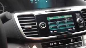 2013 Honda Accord Radio Issue