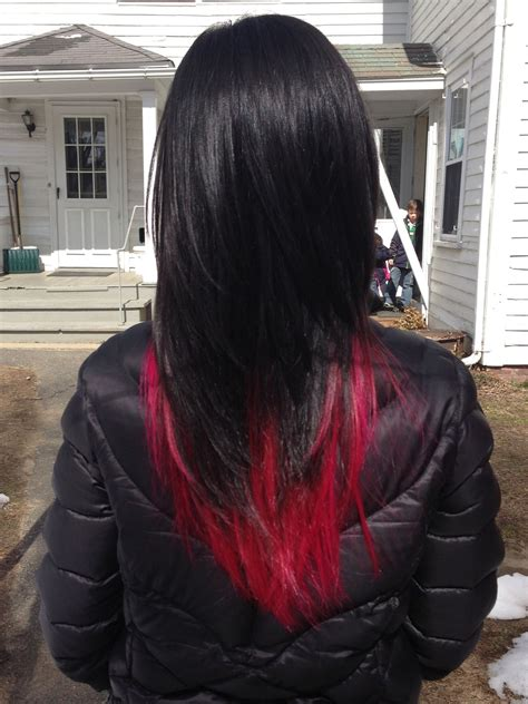 Just The Tip ~ Dip Dye Hair 1 Tgi Bleach W Foil 25