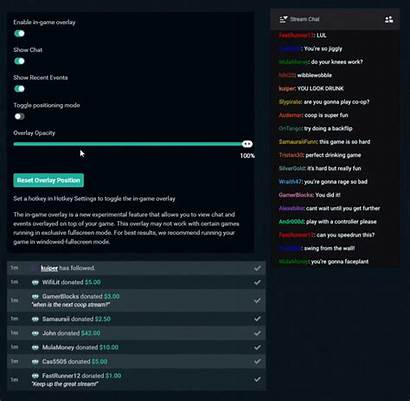 Overlay Streamlabs Streaming Opacity Single Monitor Tool