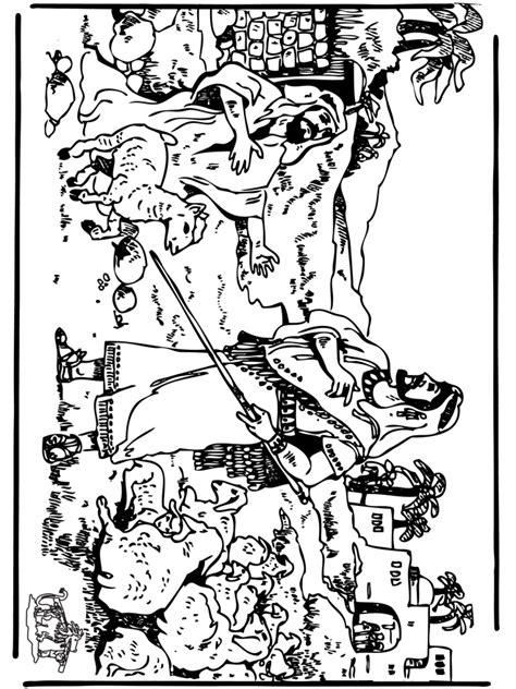 David En Jonathan Kleurplaat by David 3 Ancien Testament