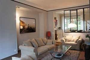 Decoration Mur Interieur Salon : chantier r nover et am nager un salon habitatpresto ~ Teatrodelosmanantiales.com Idées de Décoration