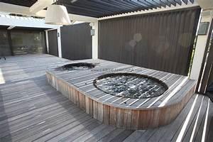 Spa Bois Exterieur : spa en bois bain nordique jacuzzi en bois ext rieur hot tub ~ Premium-room.com Idées de Décoration