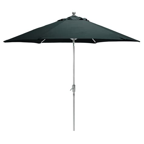 kettler parasol 2 9m wind up with tilt aluminium frame anthracite canopy