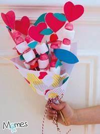 un bouquet gourmand pour dire je t39aime momesnet With affiche chambre bébé avec bouquet de fleurs saint valentin
