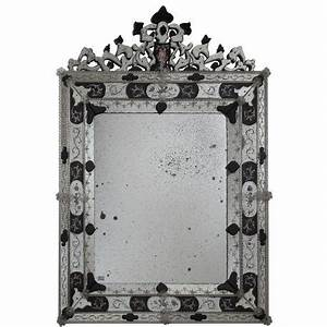 Miroir Vénitien Ancien : alessia miroir v nitien en verre de murano murano glass chandeliers ~ Preciouscoupons.com Idées de Décoration
