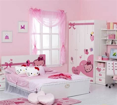 hello rooms for hello kitty bedroom idea for your cute little girl homestylediary com