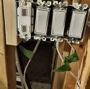 Electrical - Wiring 4 Gang Box