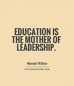 Educational Leadership Quotes. QuotesGram