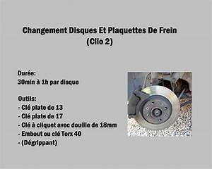Disque De Frein Clio 3 : changement disques et plaquettes de frein clio 2 youtube ~ Maxctalentgroup.com Avis de Voitures
