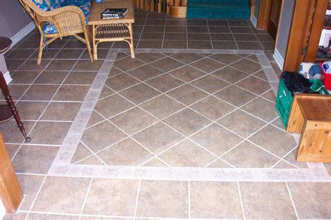 love  mixed pattern  border tile floors google