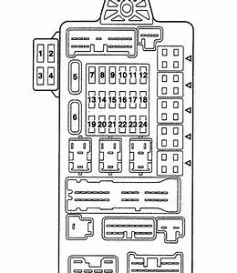 2005 Mitsubishi Endeavor Fuse Box Diagram