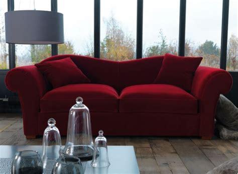 canapé velours bordeaux encore un peu plus d assises design chaises fauteuils