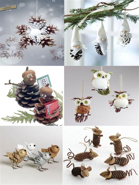 40 easy and cute diy pine cone christmas crafts moco choco