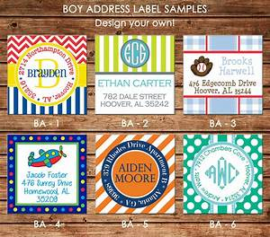 30 square return address labels boy personalized choose With address labels near me