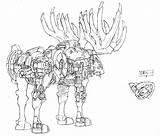Coloring Dynamite Liger Napoleon Drawing Concept Zoids Getdrawings Magazine Getcolorings Animal sketch template