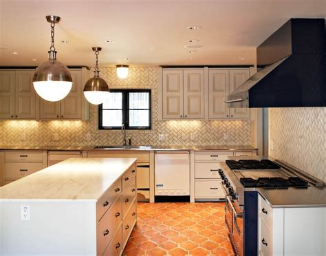 floor and decor backsplash herringbone backsplash transitional kitchen more design build
