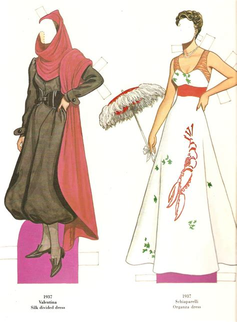 missy paper dolls great fashion designs