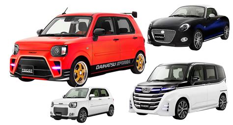 Daihatsu Car : Daihatsu Creates Weird And Wild Kei Cars For Tokyo