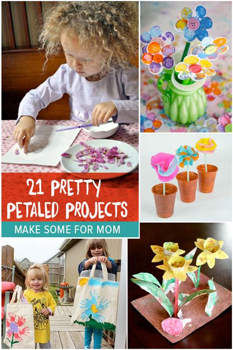 pretty petaled projects flower crafts  kids