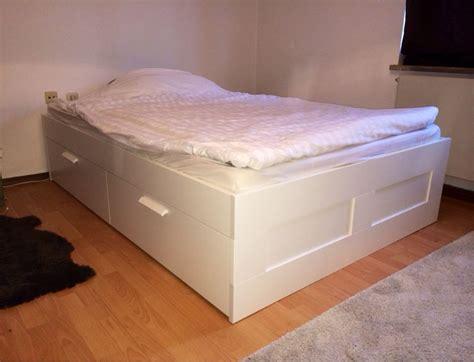Gebraucht Bett Ikea Brimnes 1,40x2m In 81475 München Um €