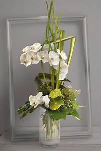 Bouquet Fleurs Blanches : fleurs mariage c leste bouquet en hauteur d 39 orchid es ~ Premium-room.com Idées de Décoration