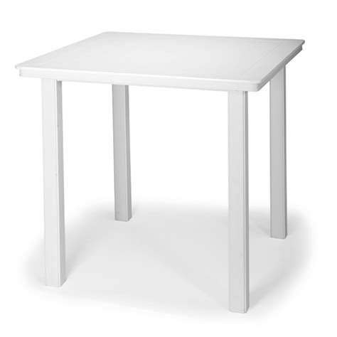 telescope casual 42 inch square mgp top bar height table