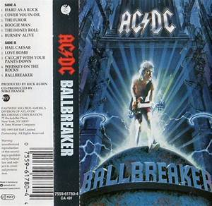 AC/DC - Ballbreaker (Cassette, Album) at Discogs
