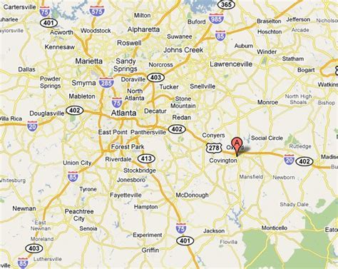 Map Of Covington Ga Pictures to Pin on Pinterest - PinsDaddy