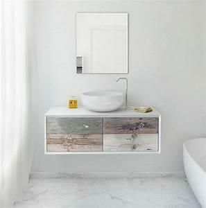 Meuble sous vasque salle de bain 35 solutions design for Attractive meuble sous vasque design 1 meuble double vasque de design moderne en 60 exemples
