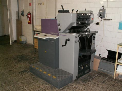 heidelberg printmaster qm   machinery europe