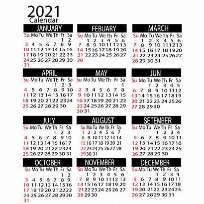 Calendar 2021 Printable Yearly Vertical Holidays Psd