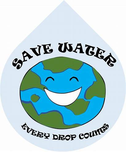 Conservation Water Clipart Clip Save Saving Conserve