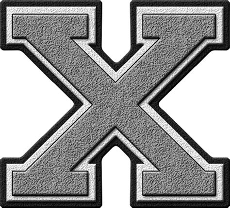 presentation alphabets silver varsity letter k presentation alphabets silver varsity letter x 39324