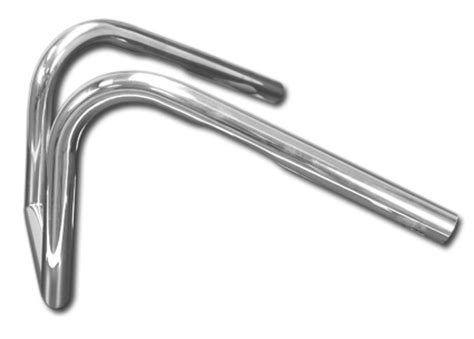 easyriders rabbit ears handlebars 1 quot chrome for h d 82