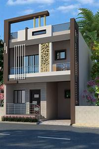 Modern, Front, Elevation, Home, Design, 2020