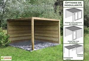 Abri De Jardin Ouvert : abri de jardin bois exterior 300x300x230 gardival ~ Premium-room.com Idées de Décoration