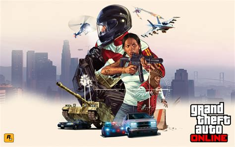 Grand Theft Auto Online Game Hd Wallpaper