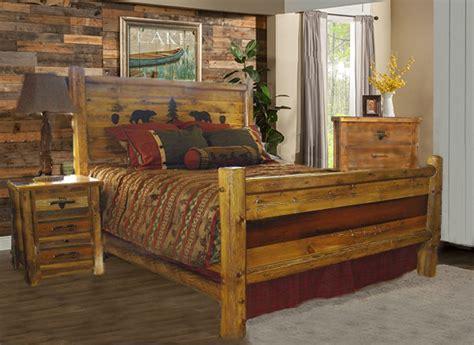 barnwood bedroom set bradley s furniture etc utah rustic paw barnwood