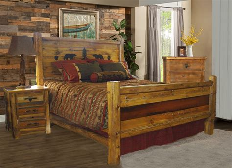 Bradley's Furniture Etc  Utah Rustic Bear Paw Barnwood