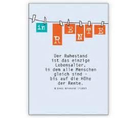 sprüche zum ruhestand in rente die grußkarte zum ruhestand grusskarten onlineshop 1agrusskarten de geschenkideen