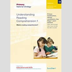 Understanding Reading Comprehension 1 By Literacyclassroom  Teaching Resources Tes