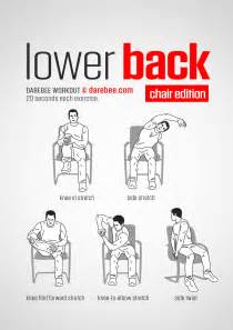 lower back workout chair www bacrac co uk exercises