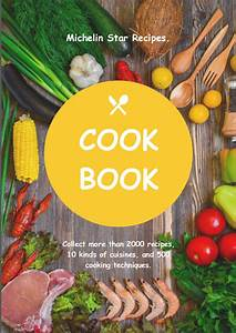 Cooking Book Cover